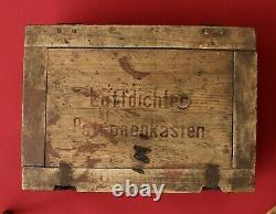 Original WW2 German Ammo Box B Luftdichter Patronenkasten for MG & K98 (1941)