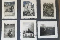 Original WW2 German Army Artillery photo album 68 top quality photos Poland
