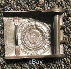 Original WW2 German Elite Uniform Belt Buckle VERY RARE, READ DESC
