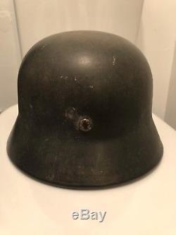 Original WW2 German Helmet M40 Stahlhelm