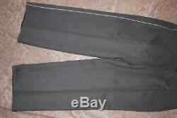 Original WW2 German Infantry Heer Waffenrock Dress Uniform Trousers Pants