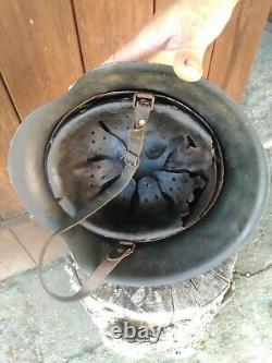 Original WW2 German M42 Helmet