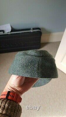 Original WW2 German M43 SS Field Cap with Deaths Head Badge