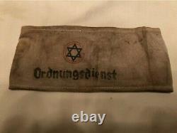 Original WW2 German Ordnungsdienst Ghetto Armband