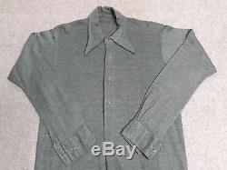 Original WW2 German Shirt Feldhemd