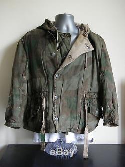 Original WW2 German Splinter and Winter Camo Camouflage Jacket Uniform
