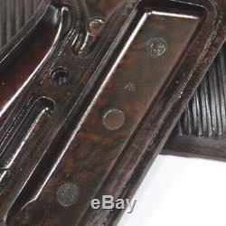 Original WW2 German Walther P38 grips with screew WaA359 proof