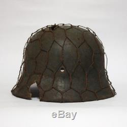 Original WW2 German helmet M42 Stahlhelm Named
