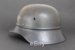 Original WW2 German helmet Mod. 35 with liner -Antiaircraft defense