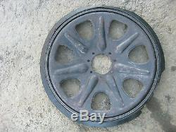 Original WW2 German wheel for Sd. Kfz. 7