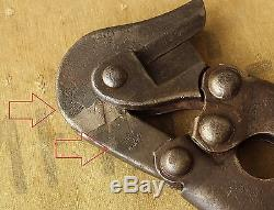 Original WW2 Relic German army Combat Pioneer Short Wire Cutter from Kurland