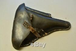 Original WW2 WWII German Luger P08 Pistol Holster 1935 Dated