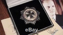 Original WW2 WWII WH Navy U-Boat U-Boot Officer Knights German Iron Cross Gold