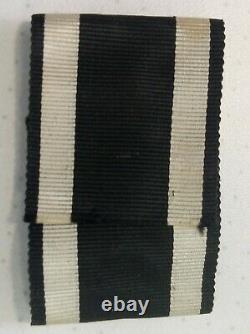 Original WW2 croix fer WW1 iron cross clasp german medal allemand eisener kreuz