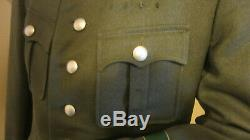 Original WWII German Customs (Zoll) Officer Uniform Tunic, Exc, Krim Shield