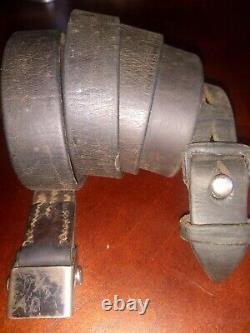 Original WWII German K98 G43 33/40 Mauser Leather Sling