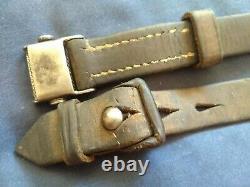 Original WWII German K98 G43 33/40 Mauser Leather Sling Late War'44