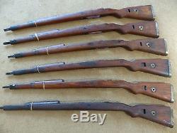 Original WWII German K98 Mauser stock 98k Complete