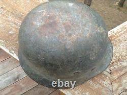 Original WWII German M40 Helmet