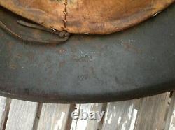 Original WWII German M42 Helmet
