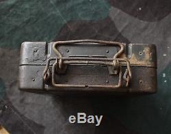Original WWII Relic German Army 8cm Mortar Transportation Box / Case S. Gr. W. 34