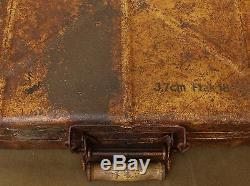 Original WWII Relic German Army Flak 18 3.7 Shell Transportation Box / Case Rare