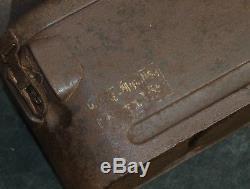 Original WWII Relic German Army Springminen Transportation Box / Case S. Mi. 35