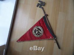 Original Ww2 German Car flag