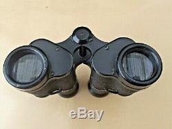 Original Ww2 German Dienstglas 6x30 Binoculars By'eso' (rodenstock, Munich)
