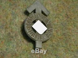 Original Ww2 German Hj Proficiency Badge I Silver