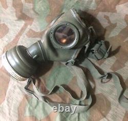 Original Ww2 German Luftschutz gas mask Set