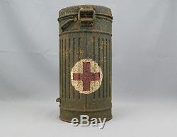 Original Ww2 German Medic Gas Mask Container