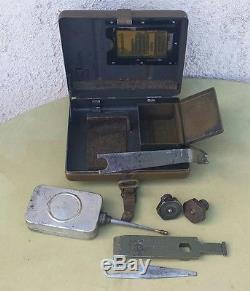 Original Ww2 German Mortar Tool Kit