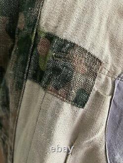 Original Ww2 German Pea Camo Jacket Tunic 100% Genuine Item Rare