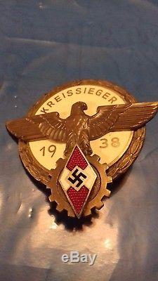 Original Ww2 German Youth Badge