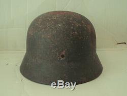 Original Ww2 M35 German Helmet Wwii M1935 Sd Et66