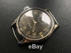 Original Ww2 Military German Luftwaffe Swiss Watch Siegerin D Wehrmacht Serviced