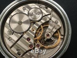 Original Ww2 Military German Officer Wehrmacht Pocket Watch Grana Dh Serviced