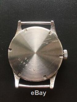 Original Ww2 Military German Swiss Watch Glycine Dh #17,743 Wehrmacht Serviced