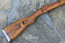 Original Wwii German Army Wooden Rifle Stock For Mauser K98. German Marking. 3