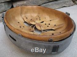 Original Wwii German Combat Helmet Liner. 64/57