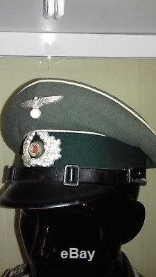 Original Wwii German Tunic Mod. 41 + Shirmutze