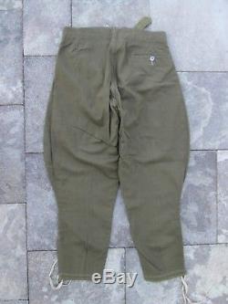 Original Wwii Ww2 German Heer Dak/tropical Service Second Pattern Trousers Pants