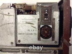 Original but incomplete WWII German Feld Fu F radio