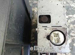 Original but incomplete WWII German Feld Fu F radio with case