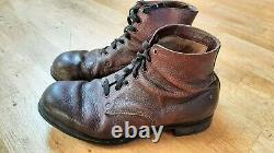 Original german WW2 Ankle Boots Schnürschuhe (Bata company)