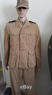 Original ww2 elite german saharina uniform