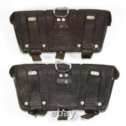 Pair of original WW2 German LW K98 pouches Marked and dated
