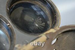 RARE CAMO WWII German 12x60 Binoculars BLC Carl Zeiss Jena Fernglas Original WW2