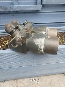 RARE German WW2 dkl, Flak Binoculars 10x80 original paint